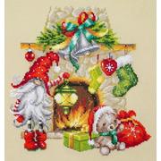 """Набор для вышивания крестом Чудесная игла """"В ожидании Рождества"""""""