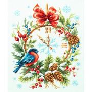 """Набор для вышивания крестом Чудесная игла """"Время Рождества"""""""