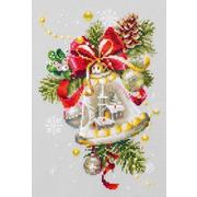"""Набор для вышивания крестом Чудесная игла """"Рождественский колокольчик"""""""