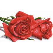 """Набор для вышивания крестом Белоснежка """"Красные розы"""""""