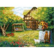 """Набор для вышивания крестом Риолис """"Загородный домик"""""""