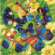 """Набор для выкладывания мозаики Риолис """"Яркие бабочки"""""""