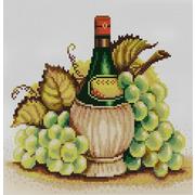 """Канва/ткань с нанесенным рисунком Конёк """"Молодое вино"""""""