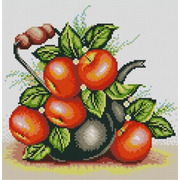 """Канва/ткань с нанесенным рисунком Конёк """"Яблочный чайник"""""""