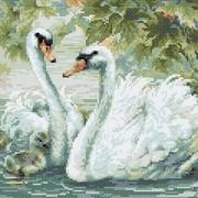 """Набор для выкладывания мозаики Риолис """"Белые лебеди"""""""