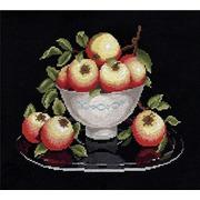 """Набор для вышивания крестом Овен """"Яблоки в вазе"""""""