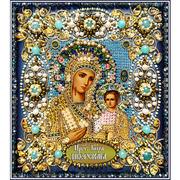 """Набор для вышивания бисером Образа в каменьях """"Богородица Иверская"""""""