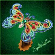 """Набор для вышивания бисером Вдохновение """"Ажурная бабочка 084"""""""