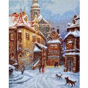 """Набор для вышивания крестом Палитра """"А снег идет"""""""