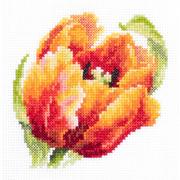 """Набор для вышивания крестом Чудесная игла """"Красный тюльпан"""""""