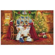 """Набор для вышивания крестом Nitex """"Рождество"""""""