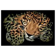 """Набор для вышивания крестом Nitex """"Леопард"""""""