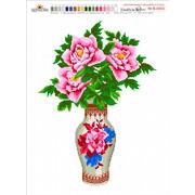 """Набор для вышивания крестом Nitex """"Цветы в вазе"""""""