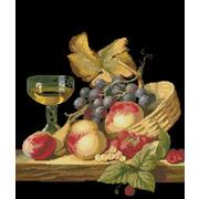"""Набор для вышивания крестом Nitex """"Натюрморт с фруктами"""""""