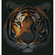 """Набор для вышивания крестом Nitex """"Тигр в ночи"""""""
