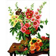 """Набор для вышивания крестом Nitex """"Цветы на столе"""""""