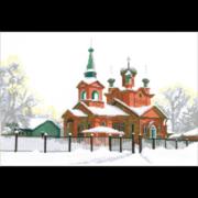 """Набор для вышивания крестом Nitex """"Церковь Святого Александра"""""""