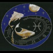 """Набор для вышивания крестом Nitex """"Рыбы"""""""