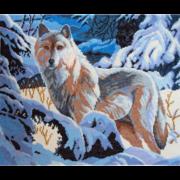 """Набор для вышивания крестом Nitex """"Волк"""""""