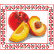 """Набор для вышивания крестом Nitex """"Спелый персик"""""""
