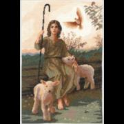 """Набор для вышивания крестом Nitex """"Пастырь"""""""