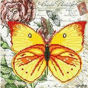 "Канва/ткань с нанесенным рисунком ""Бабочка 7"""