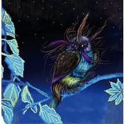"""Канва/ткань с нанесенным рисунком Божья коровка """"В сказке"""""""