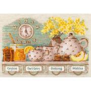 """Набор для вышивания крестом Риолис """"Tea Time"""""""