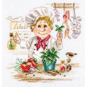 """Набор для вышивания крестом Алиса """"Шеф-повар"""""""