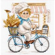 """Набор для вышивания крестом Алиса """"Пекарь"""""""