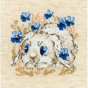 """Набор для вышивания крестом Риолис """"Маленький зайка"""""""