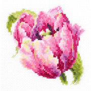 """Набор для вышивания крестом Чудесная игла """"Розовый тюльпан"""""""