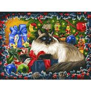 """Набор для раскрашивания Белоснежка """"Рождественские подарки"""""""
