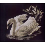 """Набор для вышивания крестом RTO """"Лебедь"""""""