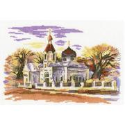 """Набор для вышивания крестом RTO """"Церковь Св.Марии Магдалины"""""""