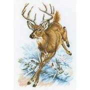 """Набор для вышивания крестом RTO """"Лесной олень"""""""