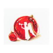 """Набор для вышивания крестом RTO """"Счастливого рождества!"""""""