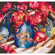 """Набор для вышивания крестом RTO """"Тюльпаны Востока"""""""