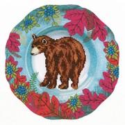 """Набор для вышивания крестом RTO """"Лесной декор. Медведь"""""""