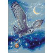 """Набор для вышивания крестом Риолис """"Волшебная сова"""""""
