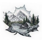 """Набор для вышивания крестом Овен """"Наедине с природой"""""""