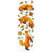 """Набор для вышивания крестом Риолис """"Лисы в листве"""""""