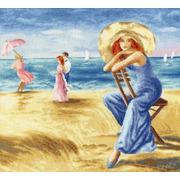 """Набор для вышивания крестом Золотое Руно """"Песчаные дюны"""""""