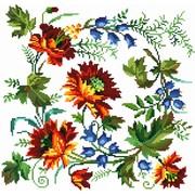 """Набор для вышивания крестом Белоснежка """"Вальс цветов"""""""