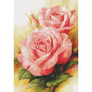 """Набор для вышивания крестом Белоснежка """"Королевские розы"""""""
