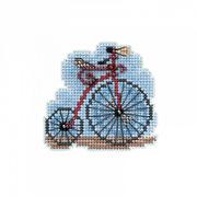 """Набор для вышивания крестом MILL HILL """"Винтажный велосипед"""""""
