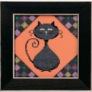 """Набор для вышивания бисером MILL HILL """"Уголь - аллея кошек"""""""