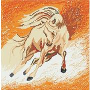 """Ткань с рисунком для вышивки бисером Божья коровка """"Пегас"""""""