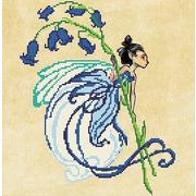 """Канва/ткань с нанесенным рисунком Божья коровка """"Колокольчик"""""""
