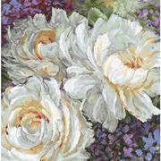 """Набор для вышивания крестом Letistitch """"White Roses"""""""
